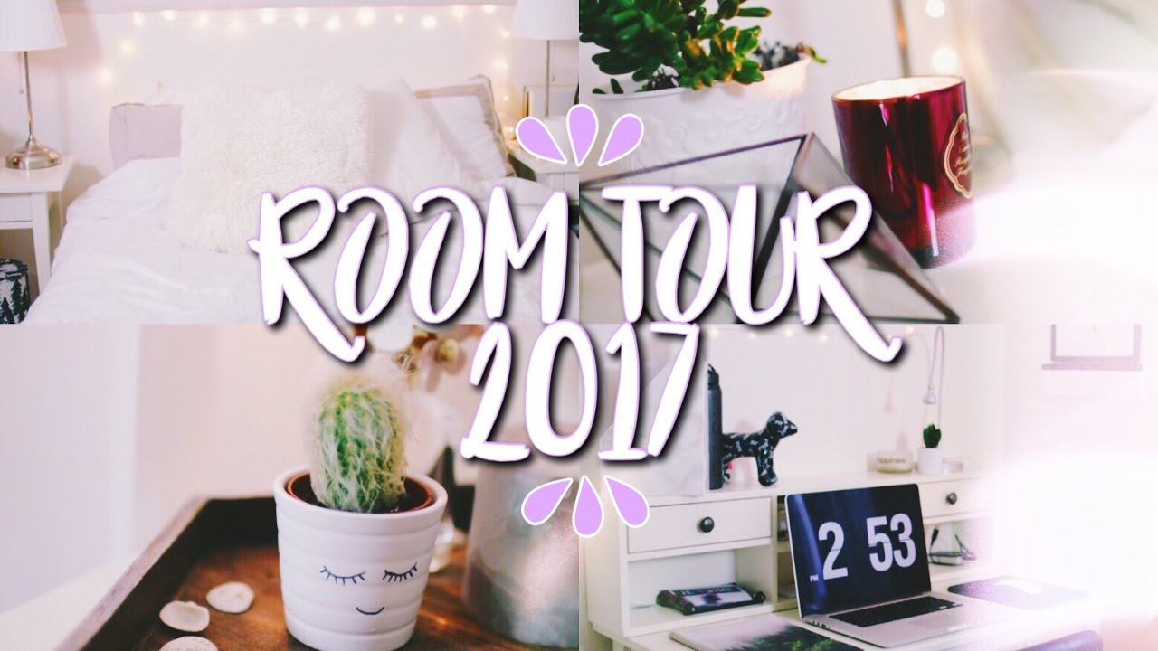TUMBLR ROOM TOUR 2017!! // Room Inspiration! - YouTube