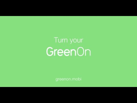 GreenOn the App: Green Transportation, Cleaner World.