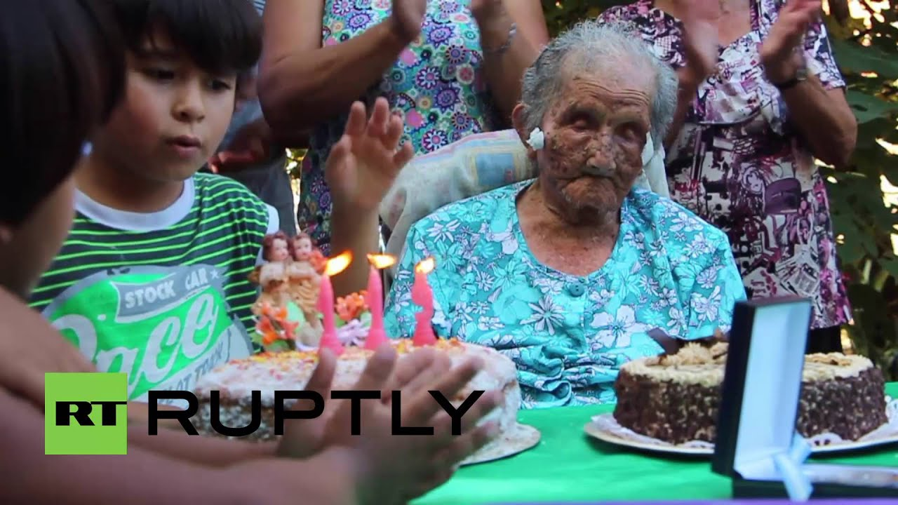 Küche Celina 2017 Argentina 119 Year Old Celina Could Be The World S Oldest Living Woman