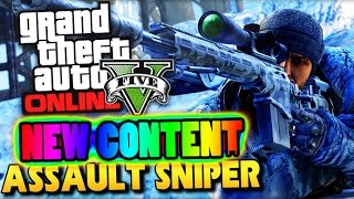 "GTA 5 Online - NEW DLC Leaked ""Assault Sniper"" & ""Monster Truck"" ! (GTA 5 Gameplay)"