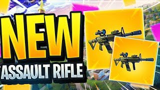 "NEW THERMAL SCOPED ASSAULT RIFLE IN FORTNITE... (New Fortnite ""LEGENDARY"" Weapon Coming To Fortnite)"