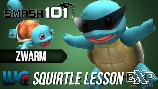 Smash 101 PM 3.02 Character Lesson - Zwarm (Squirtle)