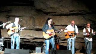 "Donna Ulisse and the Poor Mountain Boys ""Rough & Rocky"" Cumberland Caverns 10 30 2010"