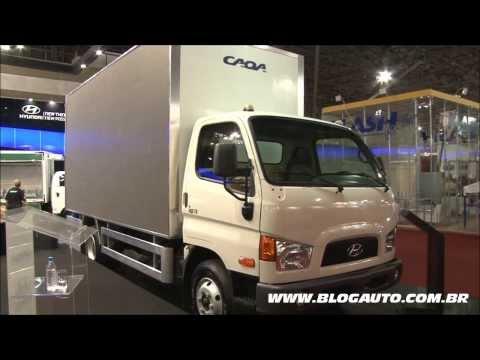Hyundai HR e HD78 2014 Apresenta o Fenatran BlogAuto
