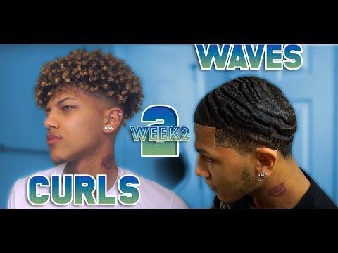 From Curls To Waves! *2Week Update*