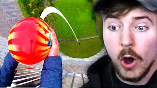 Bowling Ball vs 600 Feet Drop!
