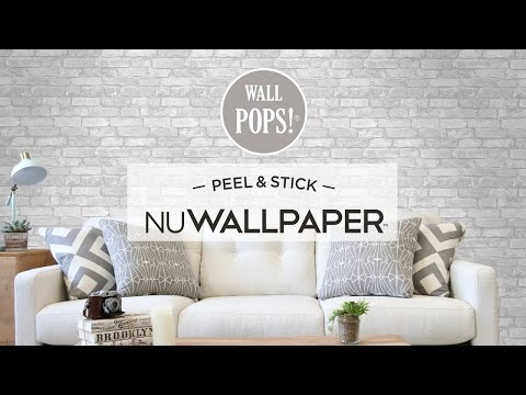 Apartment Makeover with Peel & Stick Wallpaper
