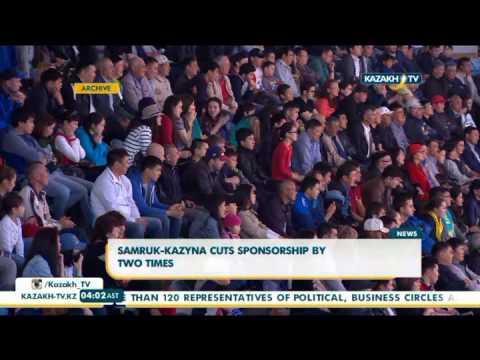 Samruk-Kazyna cuts sponsorship by two times - Kazakh TV