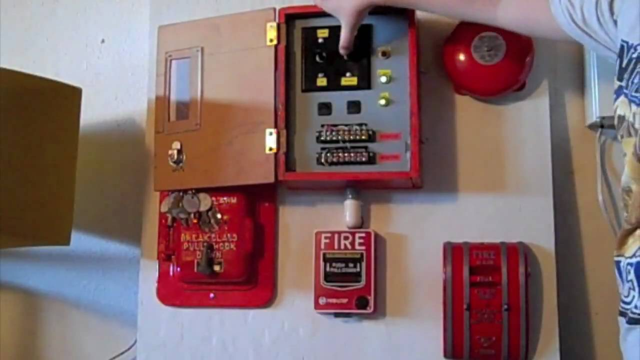 Fire Alarm Board Demonstration Youtube