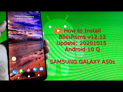 BlissRoms v12.12 (224) 20201015 for Samsung Galaxy A50s Android 10 Q