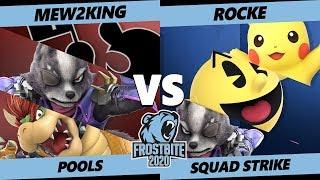 Gambar cover Frostbite 2020 SSBU Pools - Mew2King Vs. Rocke Ultimate Squad Strike - SSBU
