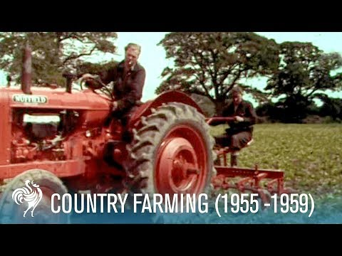 Country Farming: Innovations of the Modern Tractor 19551959  British Pathé