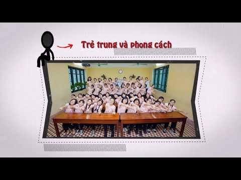 Chúc mưng 8/3 lớp 11A4 K42 Nguyễn Huệ