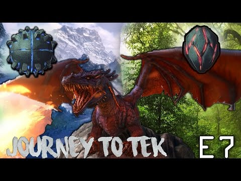 ARK| JOURNEY TO TEK | E7 | FARMING THE ARTIFACT OF THE STRONG & IMMUNE FOR THE DRAGON BOSS!