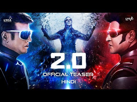 Watch 2.0 Official Trailer - Hindi - Starring Rajinikanth and Akshay Kumar