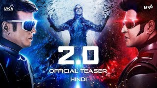 Video 2.0 - Official Teaser [Hindi] | Rajinikanth | Akshay Kumar | A R Rahman | Shankar | Subaskaran download MP3, 3GP, MP4, WEBM, AVI, FLV November 2018
