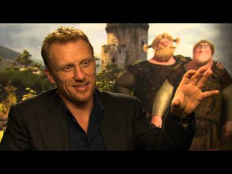 Kevin McKidd - Fun Interview for Pixars BRAVE