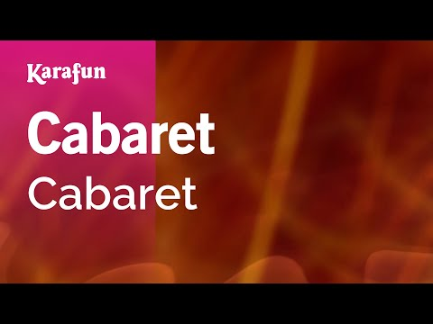 Karaoke Cabaret - Cabaret *
