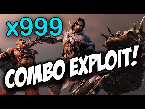 Shadow of Mordor - How to get the x999 combo!