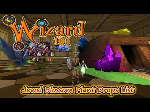 Wizard101 Jewel Blossom Plant Drops List Spell Proof & Energy Gems?