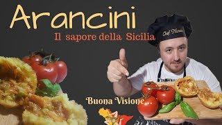 Arancini. Il sapore  della  Sicilia!