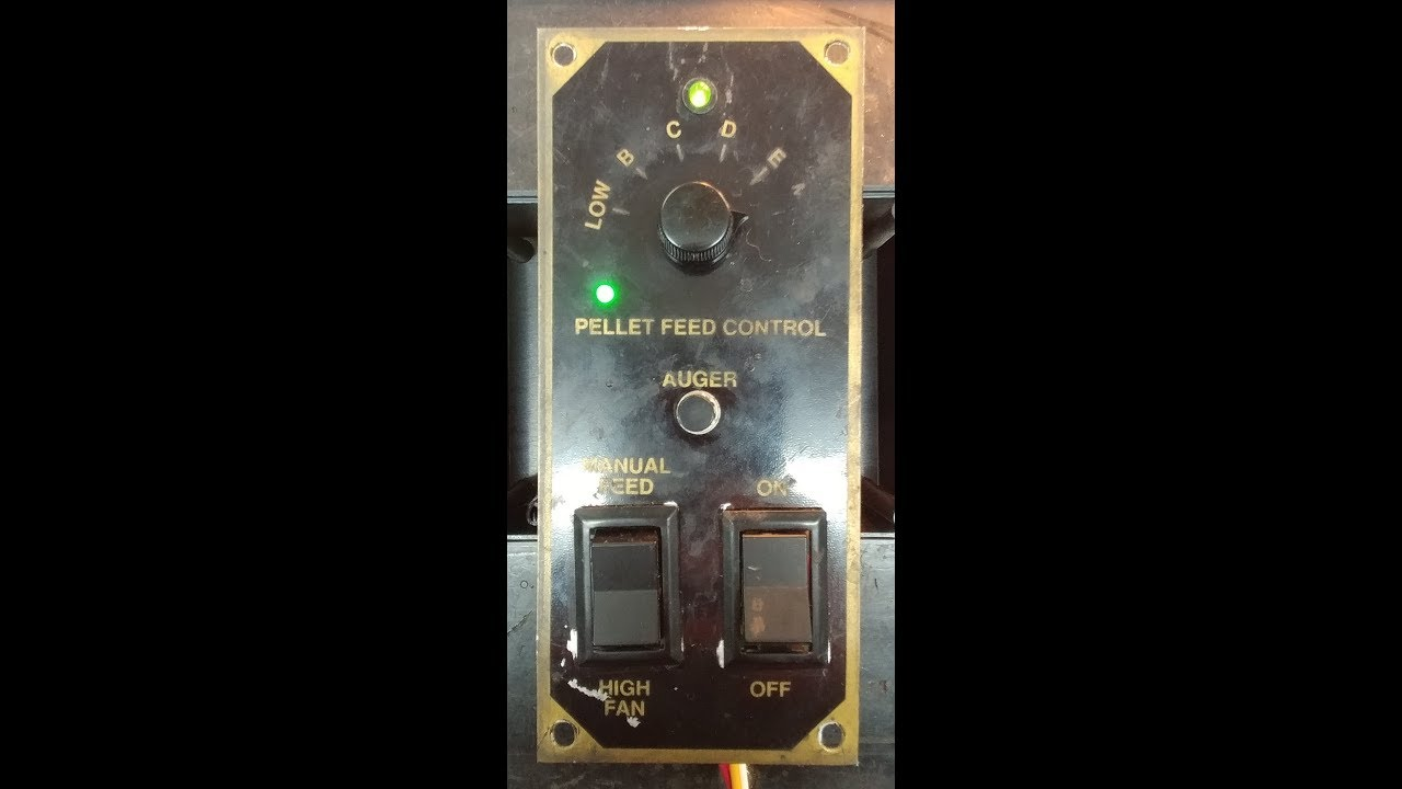 Forrest S Breckwell P24 Pellet Stove Controller Post Repairs