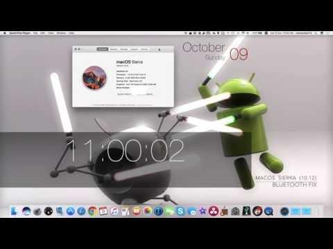 macOS Sierra (10.12) Bluetooth FIX!
