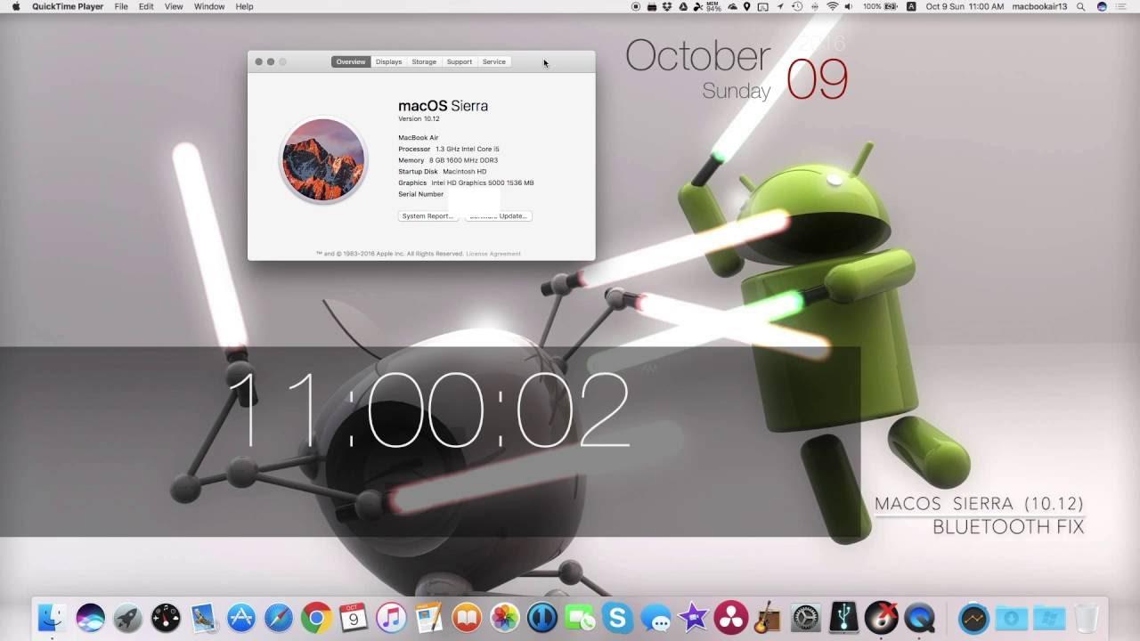 macbook pro mojave bluetooth not working