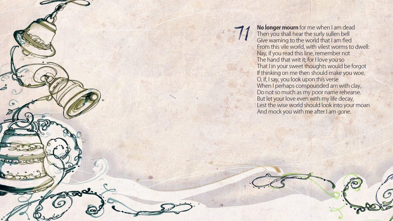 sonnet 71