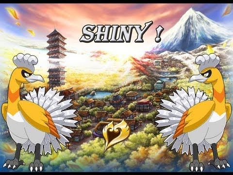 Shiny 2 ho oh le ph nix l gendaire descendu du ciel youtube - Legendaire shiney ...