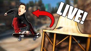 CRAZY TRICK CHALLENGES *LIVE* (Skate 3)