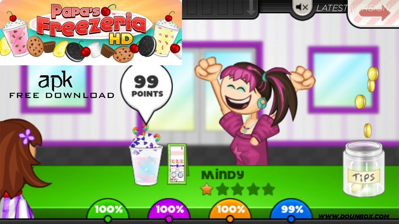 Papa's Freezeria HD Apk for Android free Download 2020 - YouTube