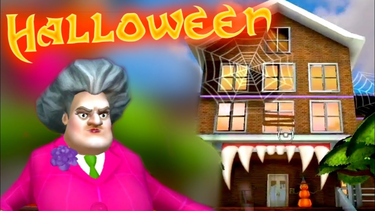 SCARY TEACHER 3D | HELLOWEEN | Gameplay Walkthrough | All Pranks [Android - iOS]