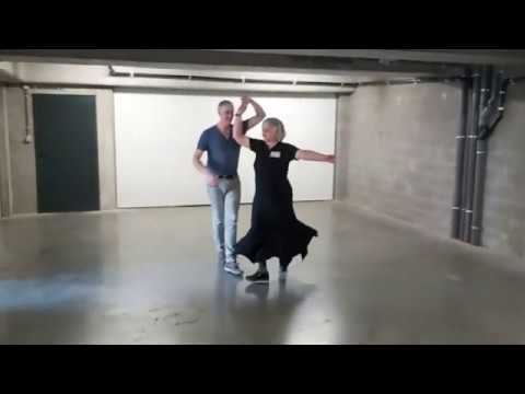 Dag 15: JP & Diana met Rumba vanuit de garage :o)