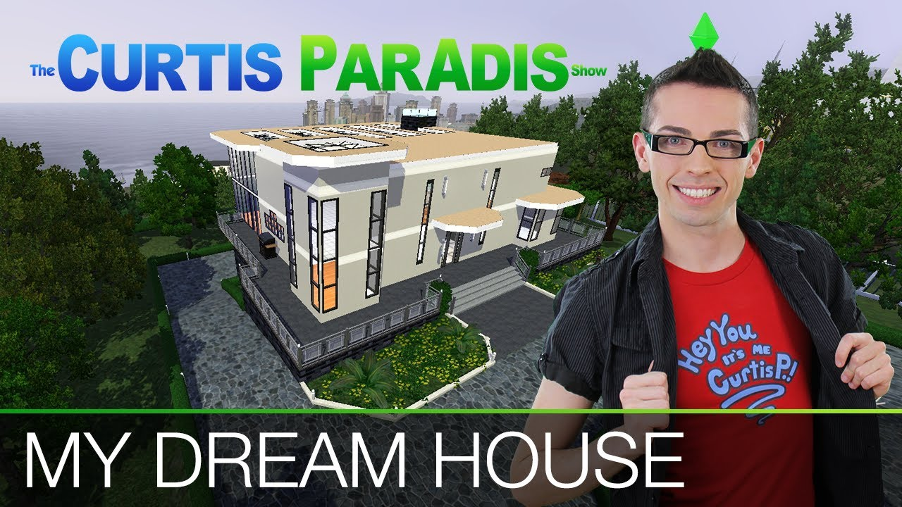The sims 3 building my dream house youtube for Dream house builder