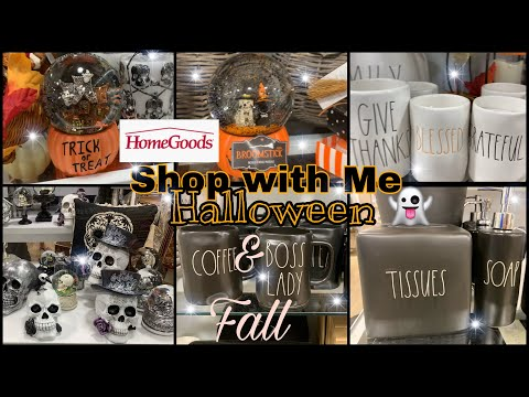 Halloween 🎃 & Fall 🍁 Decor at Homegoods *New Finds* Shop With Me