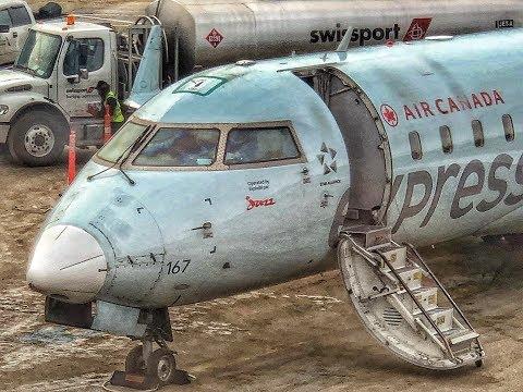 Air Canada Jazz   CRJ 200   BOS-YUL
