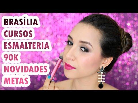 Maquia e Fala | 90 K, Novidades, Cursos, Brasília, Maquiadora