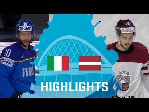 Italy - Latvia | Highlights | #IIHFWorlds 2017