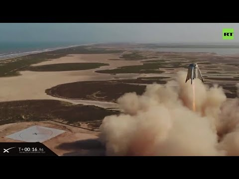 Starhopper Test Another Leap for SpaceX Towards Mars