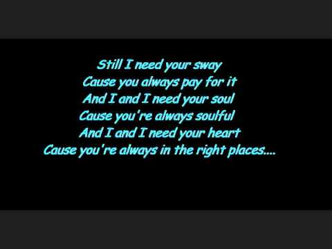 The Kooks -Sway (with lyrics)