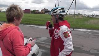 00040петропавловск велоспорт 2018 на приз А.Винокурова 3 день 80 км после финиша