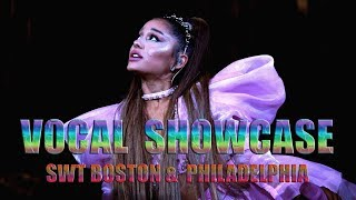 VOCAL SHOWCASE - Ariana Grande: Sweetener Tour Boston & Philadelphia