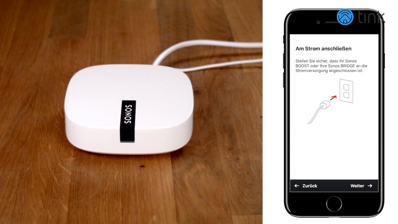 Sonos Boost- der WLAN Verstärker für störungsfreie Sonos Musik - YouTube