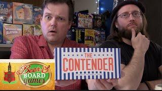 Drunk Presidential Debate Game (The Contender) - Beer and Board Games