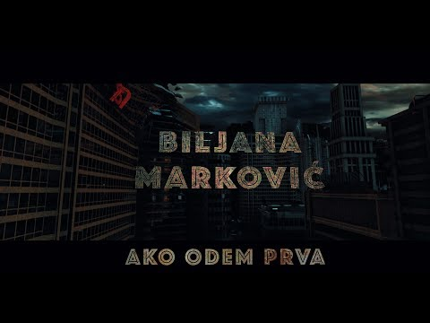 Biljana Markovic - Ako odem prva (4K Official Video 2019)