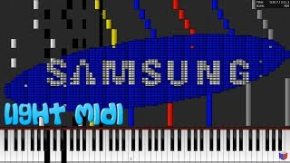Light MIDI - SCHOOL SAMSUNG RINGTONE