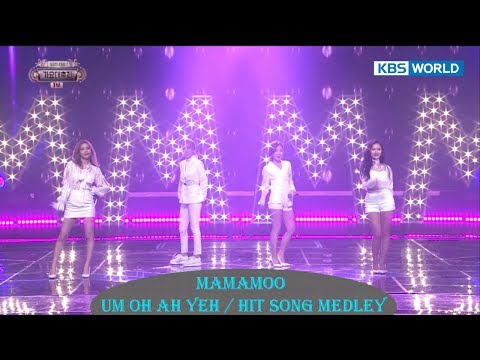 MAMAMOO - Um OH Ah YEH / Hit Song Medley [2017 KBS Song Festival | 2017 KBS 가요대축제 / 2017.12.29]