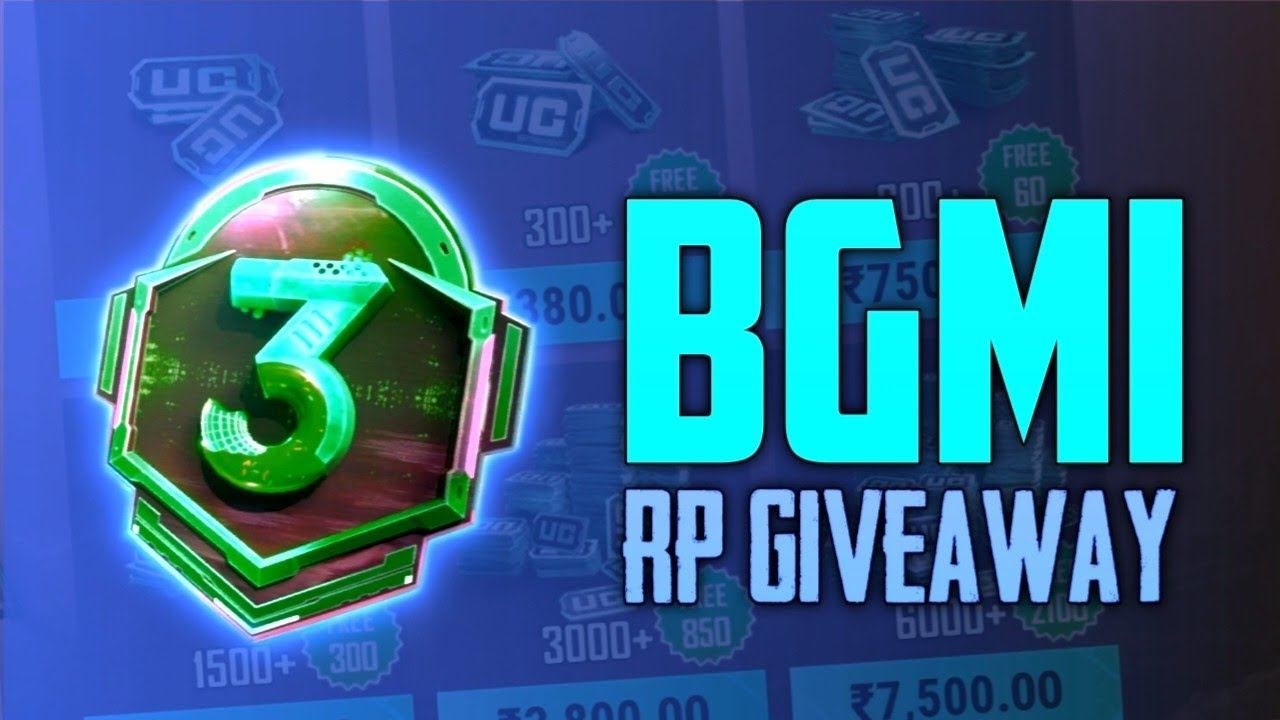 ROYAL PASS GIVEAWAY | BGMI Or PUBG MOBILE RP GIVEAWAY | FREE ROYAL PASS