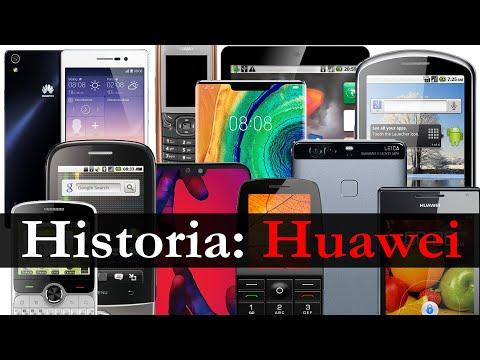 Móviles Huawei   Su Historia En Imágenes (2007 - 2019)